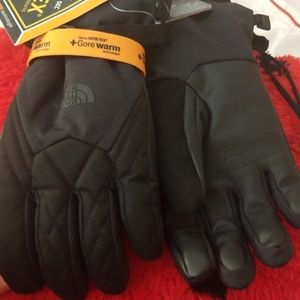 North Face Montana Gore-Tex Gloves Size Medium